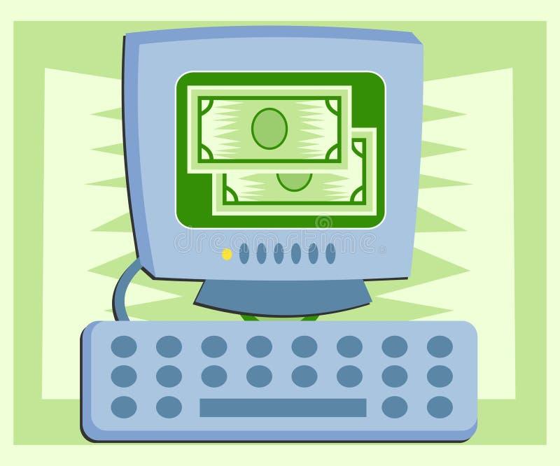 Download Comércio electrónico ilustração do vetor. Ilustração de finanças - 52439