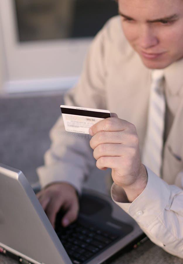 Comércio electrónico em linha fotos de stock