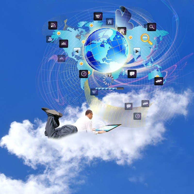 Comércio eletrónico imagem de stock royalty free