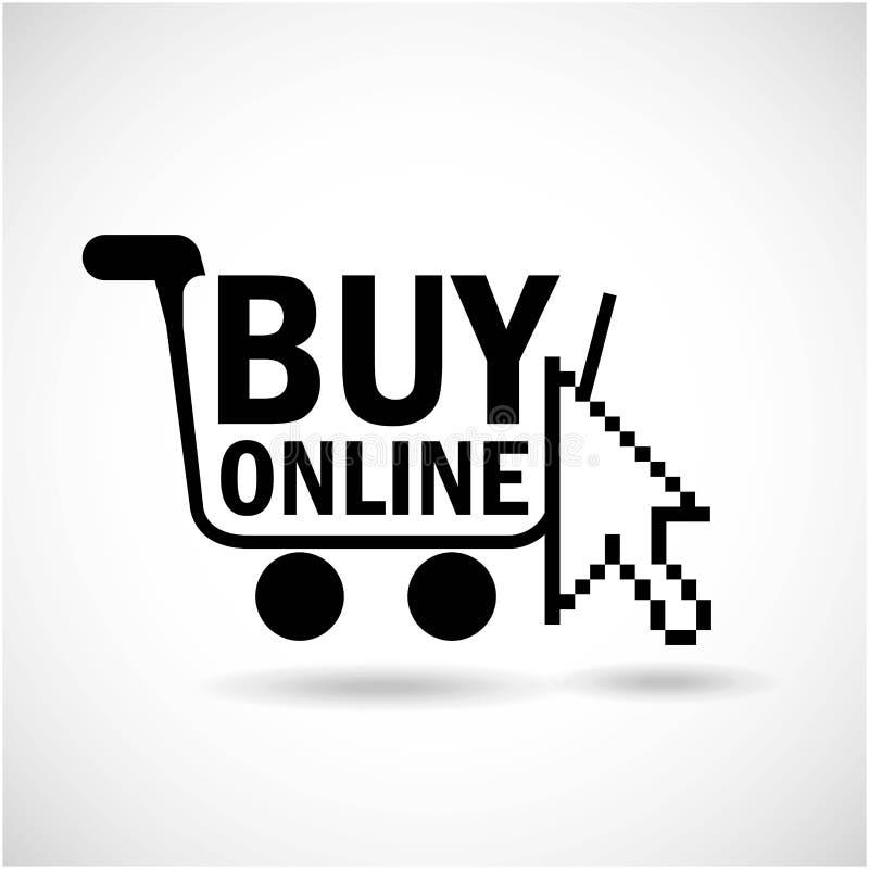Comércio eletrônico ilustração stock