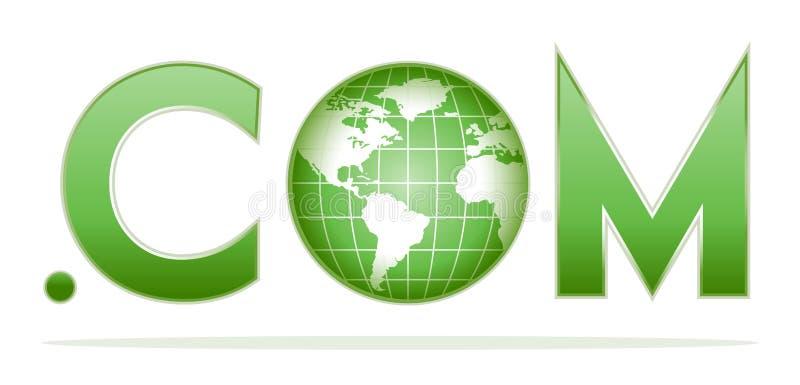 com ставит точки глобус бесплатная иллюстрация