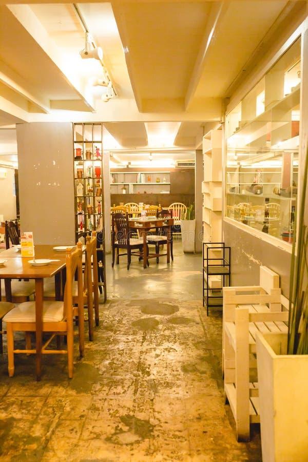 Coma o restaurante/café de Viet Vietnamese imagens de stock