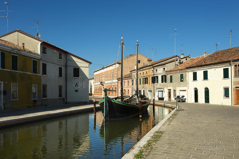 Comacchio photo stock
