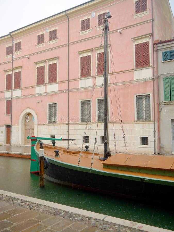 Comacchio royaltyfri bild
