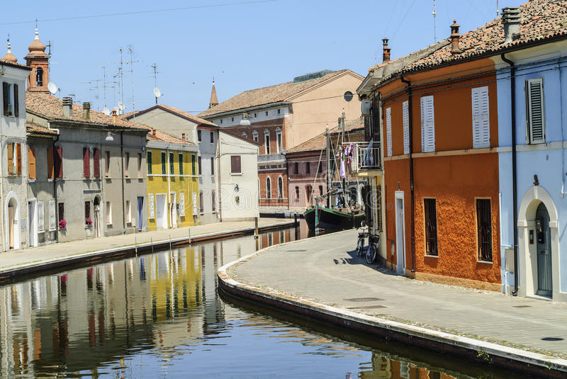 Download Comacchio stock image. Image of europe, winding, canal - 28593645