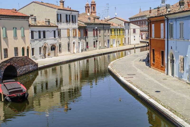 Comacchio Stock Photo