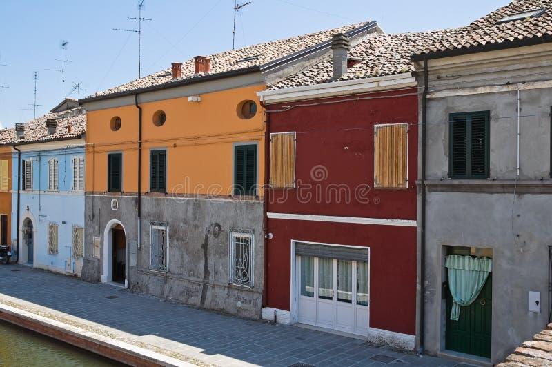 Download Comacchio. Emilia-Romagna. Italië. Stock Foto - Afbeelding bestaande uit facade, buiten: 29513374