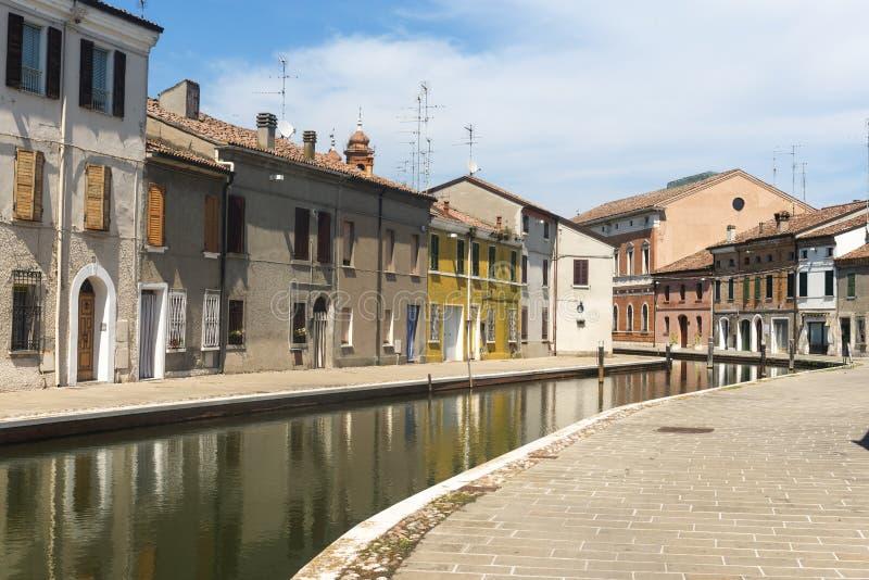 Comacchio (Italia) fotos de archivo