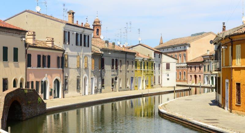 Comacchio (Italia) fotografía de archivo libre de regalías