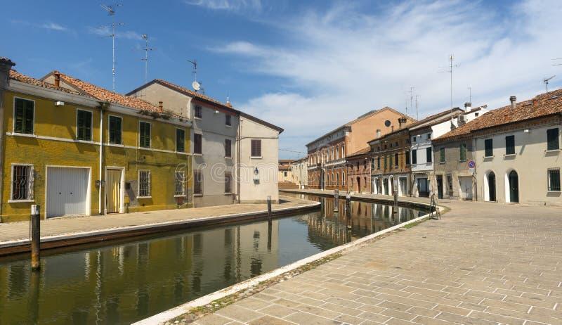 Comacchio (Italia) foto de archivo libre de regalías