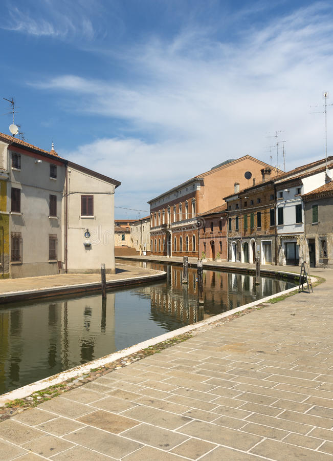 Comacchio (Italia) fotografía de archivo