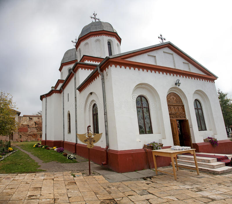 Comana church stock photos