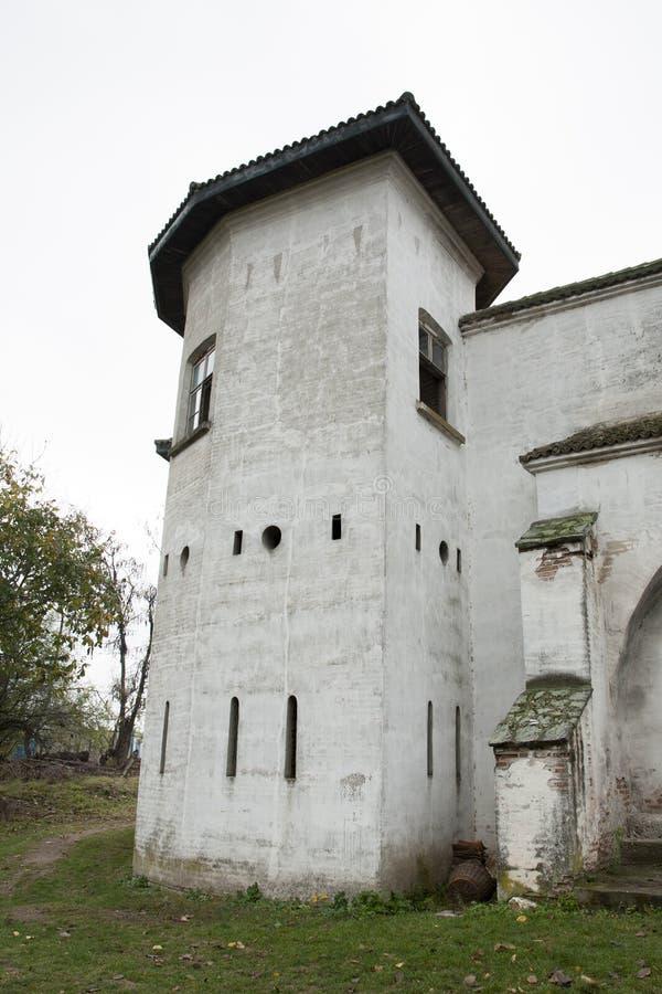 Comana church ruins. Comana church old ruins, Romania stock images