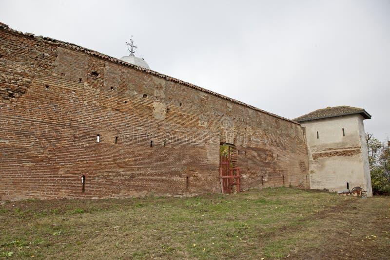 Comana church ruins royalty free stock photo