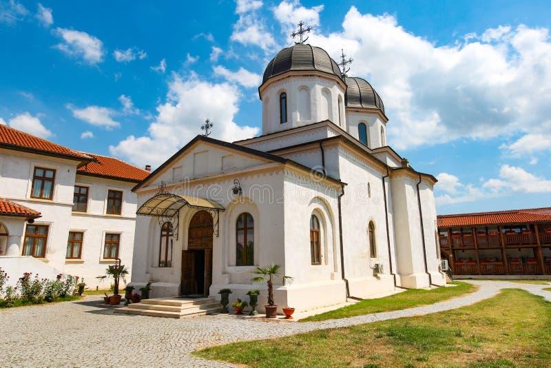 Comana Monastery in Giurgiu, Romania. Comana Monastery in Giurgiu county, Romania, on a sunny suumer day stock photos