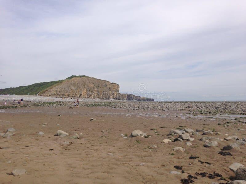 Comandante de Llantwit - playa imagen de archivo