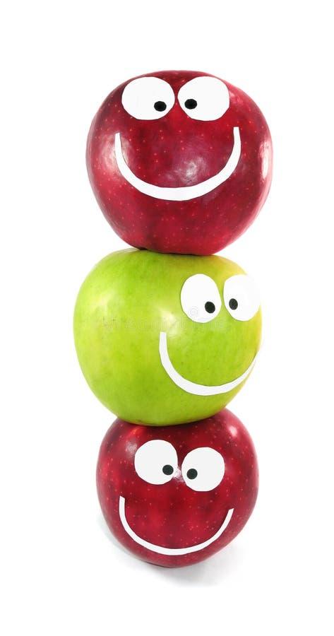Comando das maçãs fotos de stock royalty free