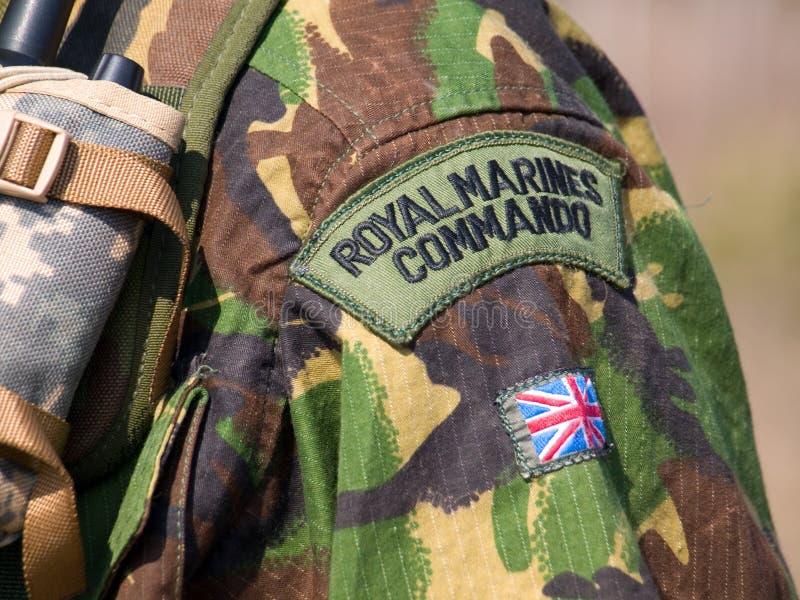 Comando real británico imagen de archivo libre de regalías
