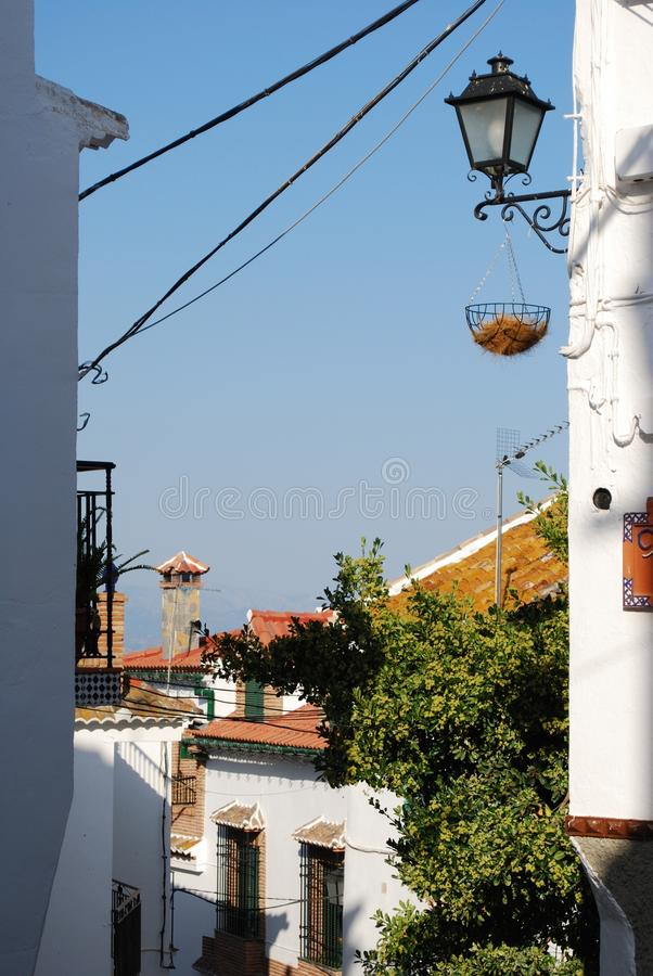 Download Comares, Andalusia, Spain. stock image. Image of axarquia - 24025065