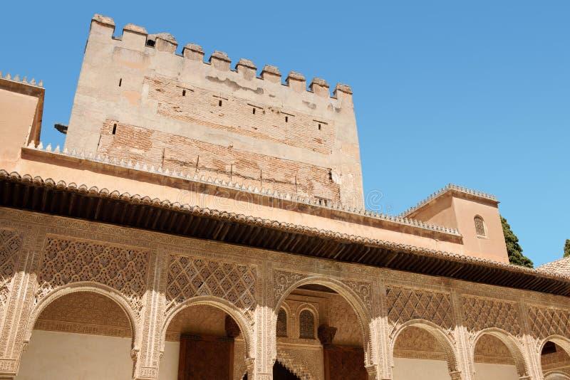 Comares Tower In Granada Royalty Free Stock Photos