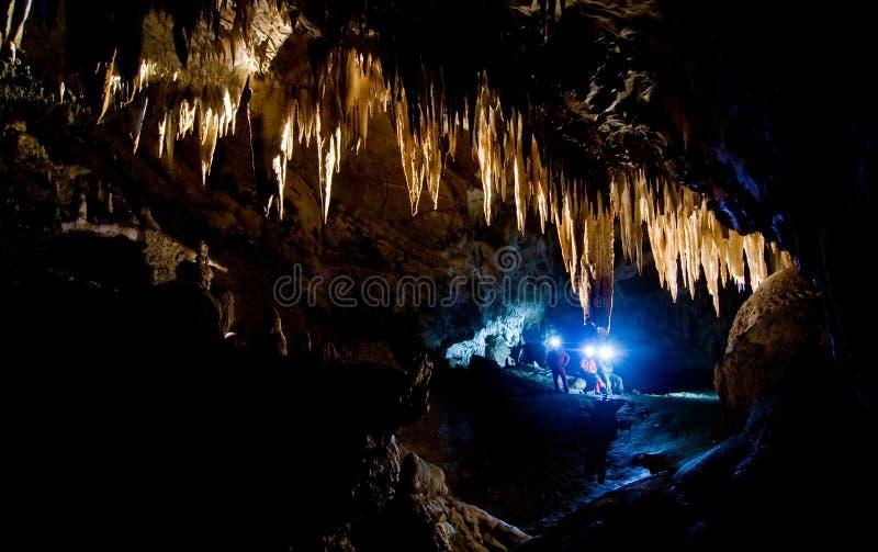 Comarnic Höhle lizenzfreie stockfotos