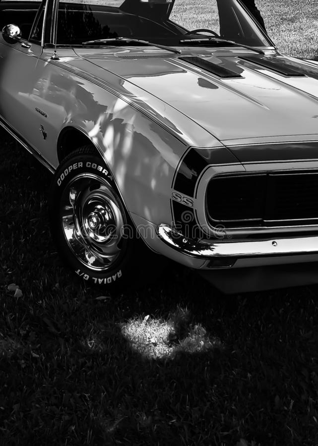 Comaro 1968 автомобиля мышцы стоковые фото