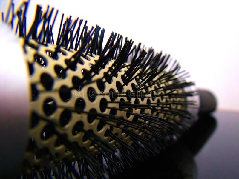 Comb. With perspective view and showing the detail stock image