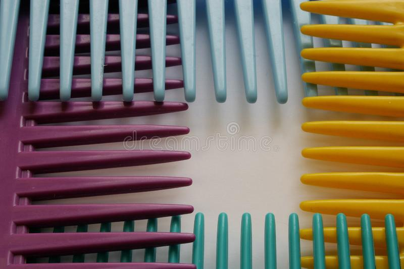 Comb royalty free stock image