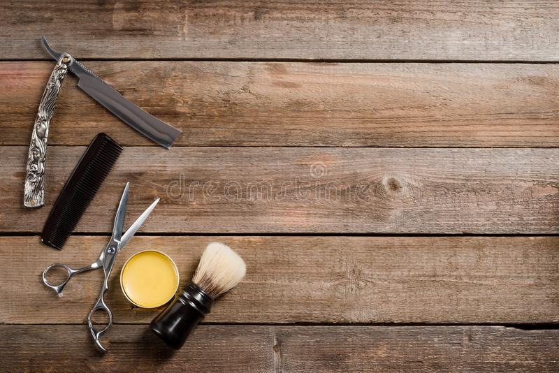 Comb and brush royalty free stock photography