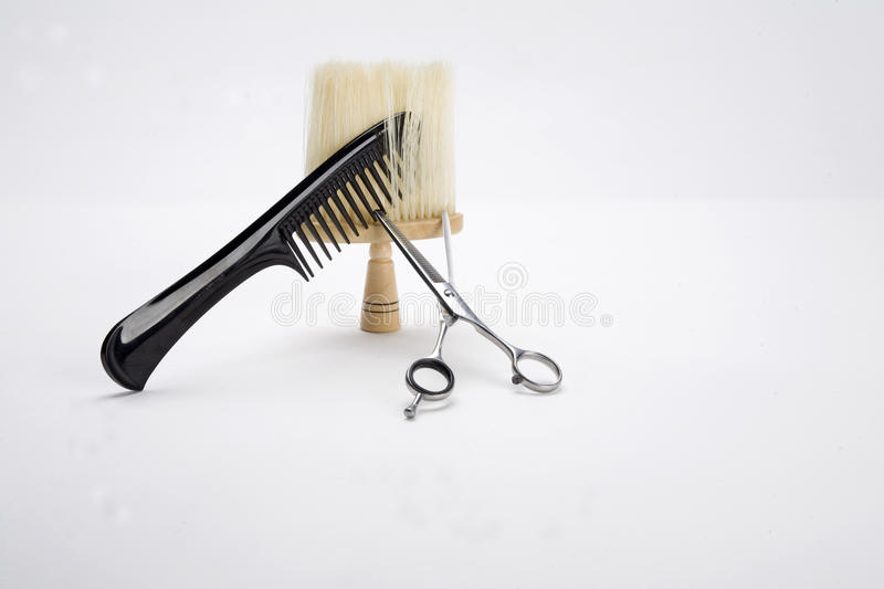Download Comb, Scissors And Brush Stock Photo - Image: 13051760