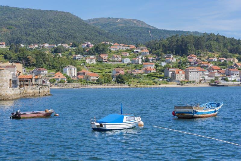Combarro Pontevedra, Spain. Combarro, coastal town located in Pontevedra, Spain royalty free stock images