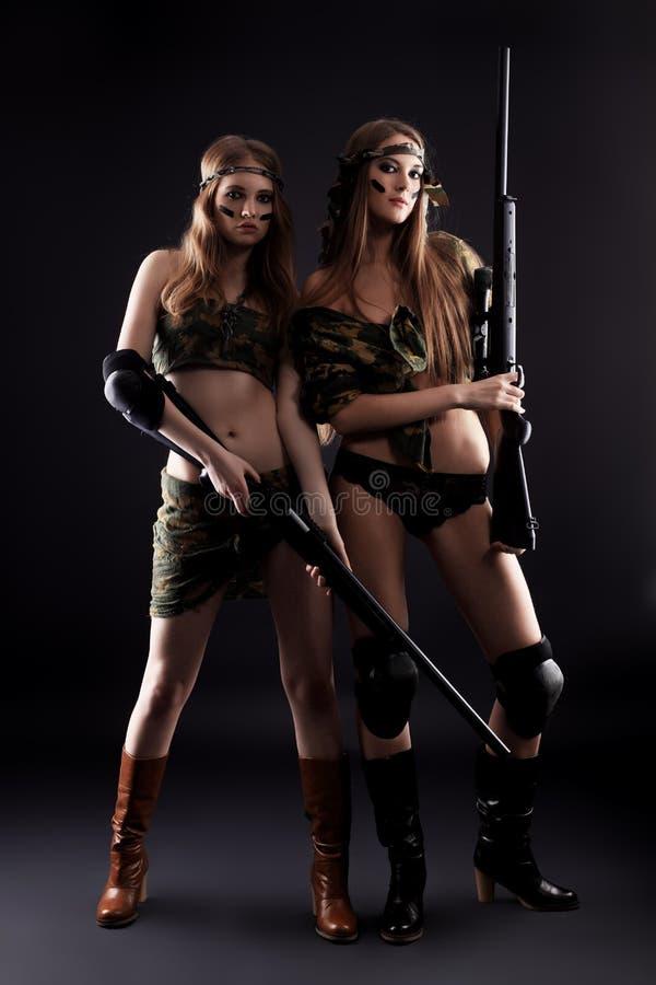 Combat image stock