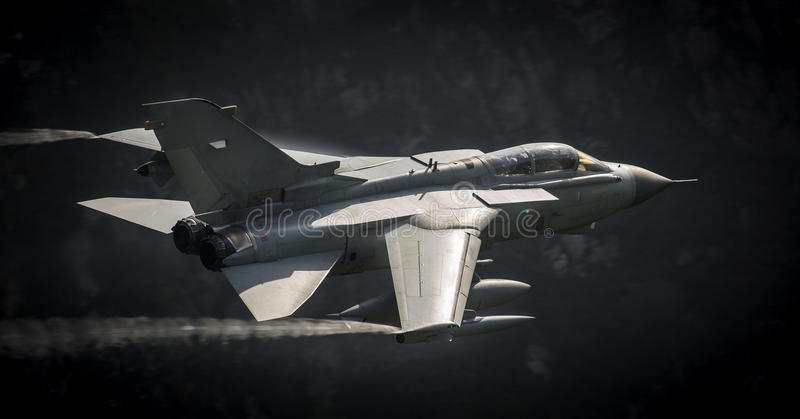 Download Combat aircraft Tornado stock photo. Image of weapons - 44955068