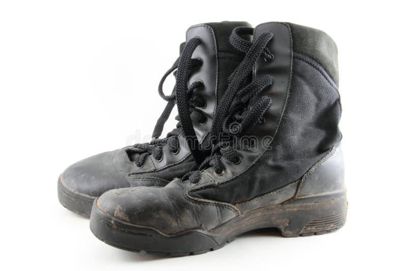 Combat Boots stock image