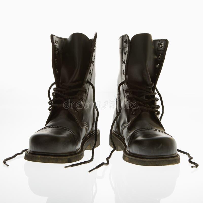 Free Combat Boots. Stock Image - 3532151
