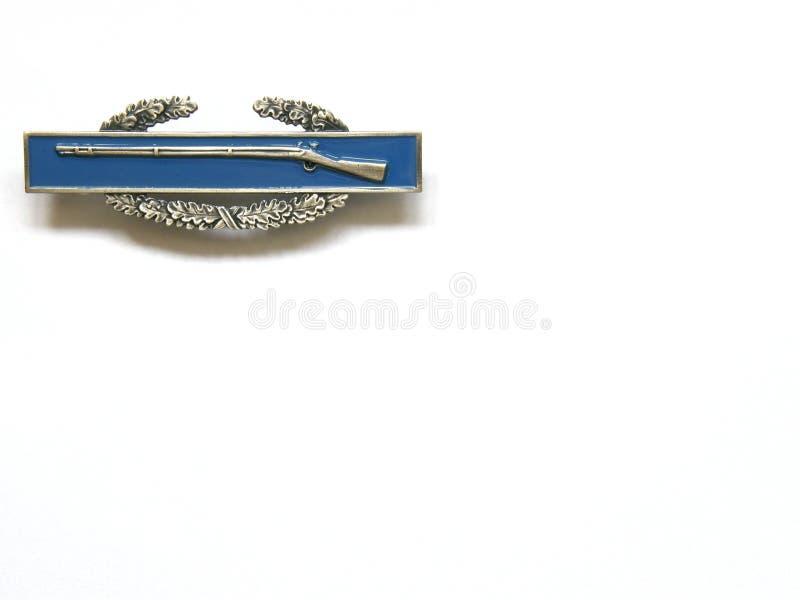 Combat Infantry Badge Stock Image