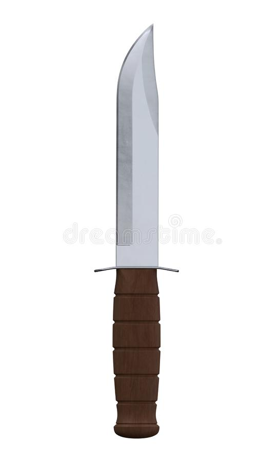 Combat knife2 image libre de droits