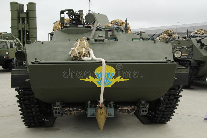 Combat Vehicle of the Airborne, BMD-4 stock image