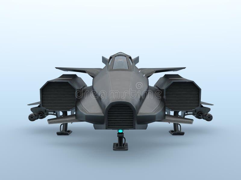 combatiente ilustración del vector