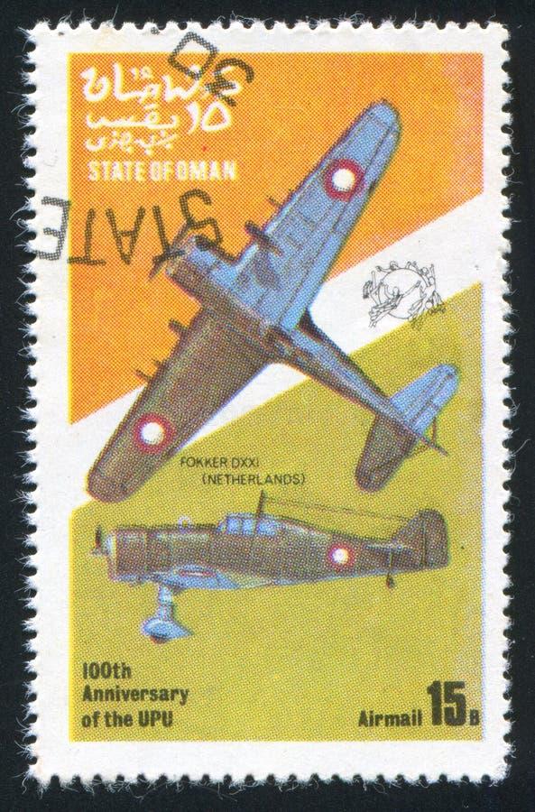 Combatiente de Fokker foto de archivo libre de regalías