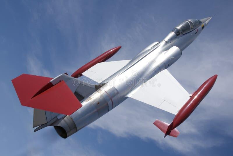 Combatiente de jet fotografía de archivo