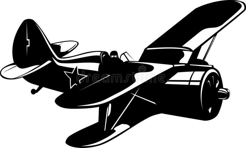 Combatiente del soviet WW2 stock de ilustración