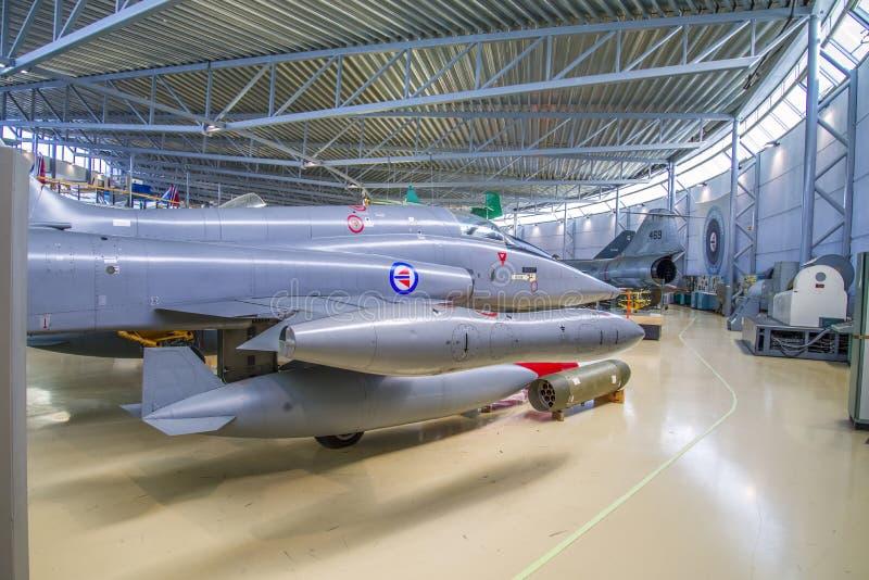 Combattant de liberté de Northrop f-5a images libres de droits