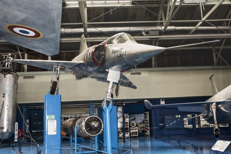 Combattant européen du mirage III A 01-The premier de Dassault, deux fois photos stock