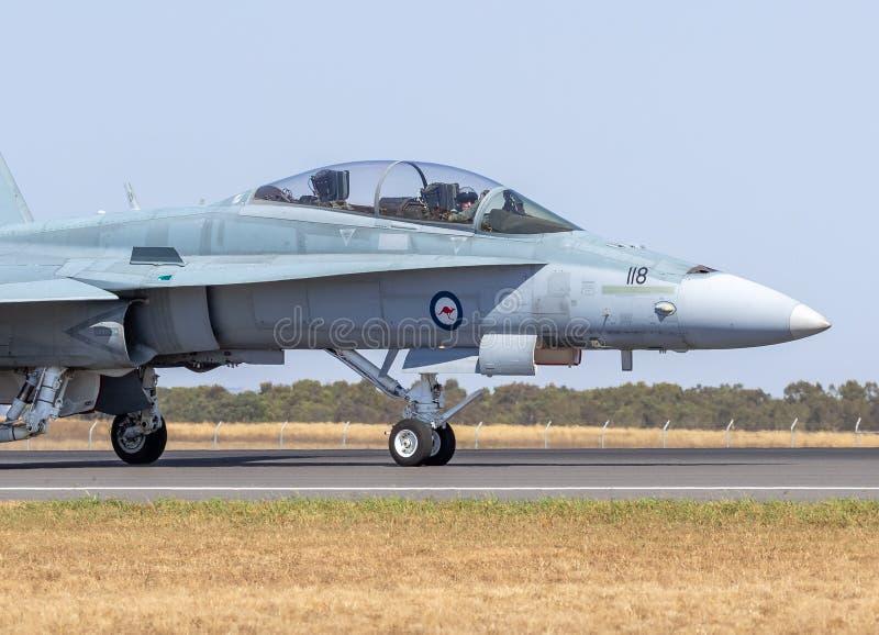 Combattant polyvalent de frelon de F/A-18B photo libre de droits