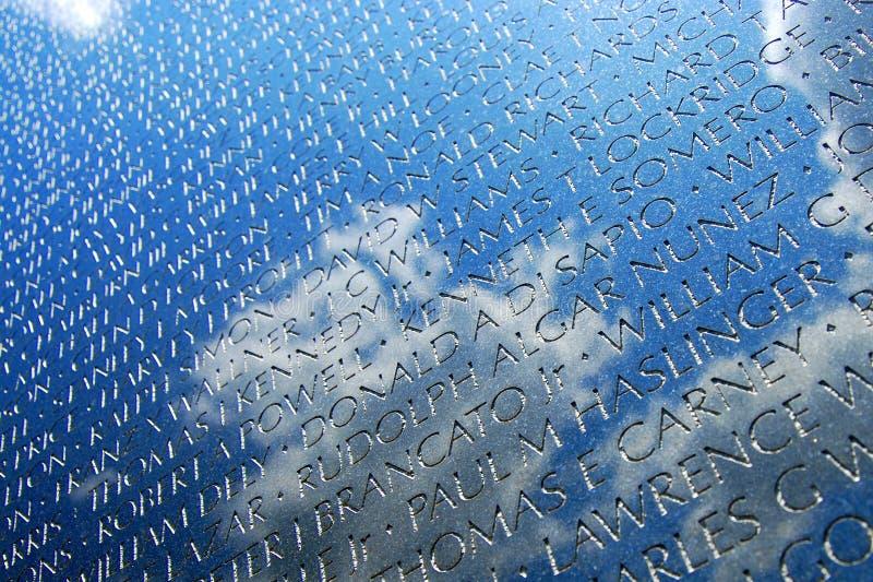 Combattants de Vietnam commémoratifs dans le C.C photos libres de droits