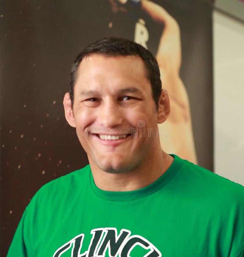 Combattente del Dan Henderson- Strikeforce MMA fotografia stock