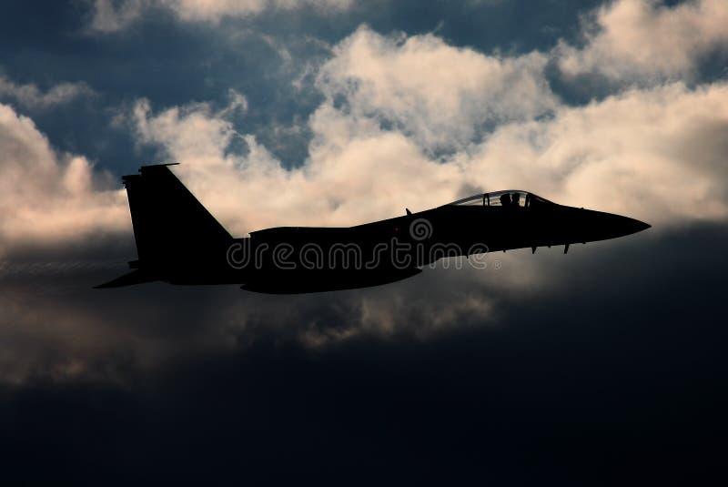 Combattente di jet fotografie stock libere da diritti