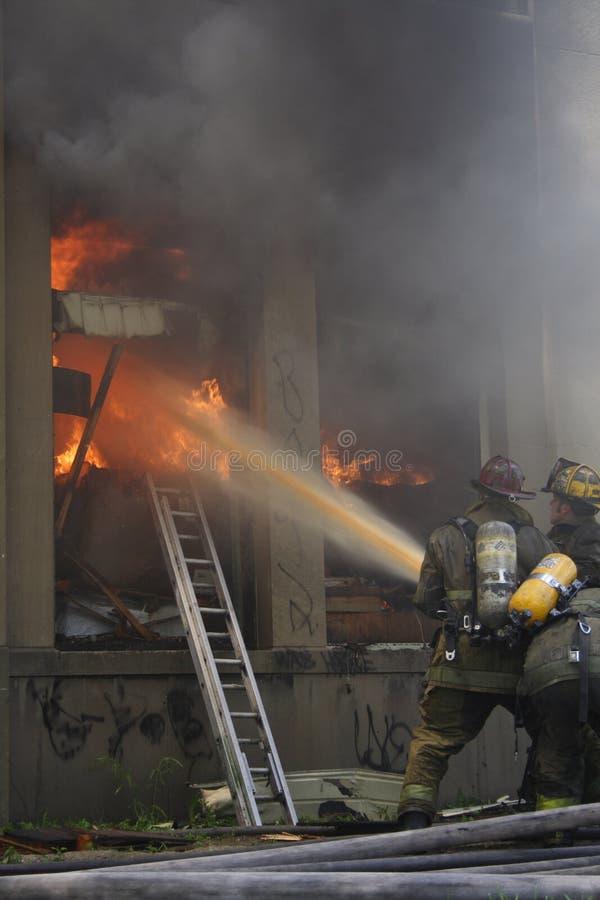Combattenti di fuoco immagini stock