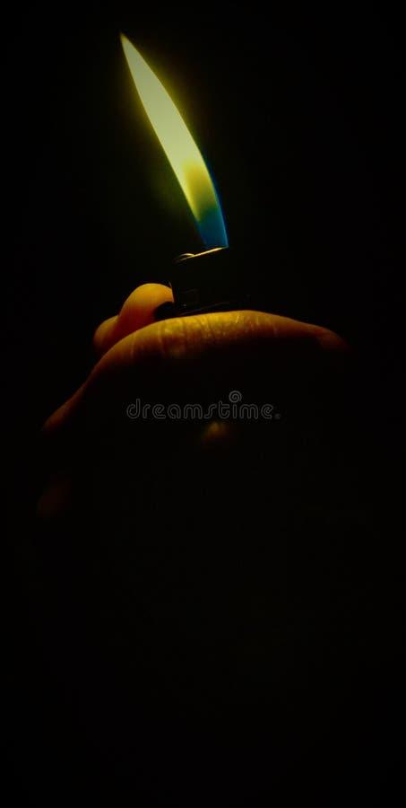 Combatti la notte fotografie stock